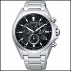 AT3050-51E CITIZEN シチズン ATTESA アテッサ メンズ腕時計 ソーラー 電波時計 エコドライブ クロノグラフ 国内正規品