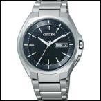 AT6010-59E CITIZEN シチズン ATTESA アテッサ メンズ腕時計 ソーラー 電波時計 エコドライブ パーフェックス 国内正規品