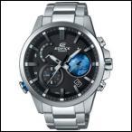 カシオ エディフィス モバイルリンク TIME TRAVELLER ソーラー メンズ ウォッチ EQB-600D-1A2JF