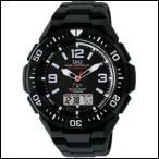 シチズン Q&Q ソーラーメイト  クロノグラフ ソーラー 電波 時計 メンズ 腕時計  MD06-305