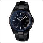 カシオ OCEANUS オシアナス メンズ腕時計 ソーラー 電波時計 チタンバンド クラシックライン オールブラック OCW-S100B-1AJF