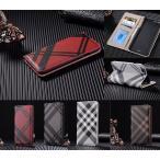 スマホケース 手帳型 iphone8 プラス iphone7 プラス ケース 手帳型スマホケース iphone 7 8 plus チェック柄 レザー