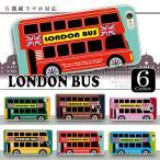 各機種対応ケース ロンドンバス柄 乗り物カラフル iPhone7 6S Plus Xperia XZ 他 ハードケース スマホケース カバー メール便送料無料