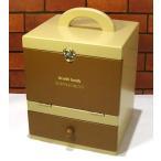 木製 サプリメントボックス・救急箱 0923-01 (一週間分の薬を分けて入れられます)