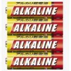 ★メール便発送(15パックまで)★ 三菱 アルカリ乾電池 LR6R/4S 【単三形4本入り】