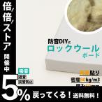 防音パネル 防音ボード 吸音 防音 DIY 遮音 騒音対策 ピアリビング ロックウールボード 密度80kg/m3 ガラスクロス両面貼り 白 605×910mm 厚さ50mm 1枚