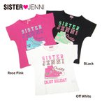 子供服 女の子 半袖Tシャツ スニーカー シスタージェニィ SISTER JENNI セール SALE