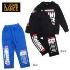 【セール/SALE】JENNI DANCE(ジェニィ)ロゴプリントジャージパンツ【075002j】【140cm/150cm/160cm】