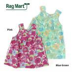 【セール/SALE】【55%OFF】RAG MART(ラグマート)フラワープリントノースリーブワンピース【1765805b】【90cm/95cm】