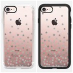 ★Casetify★ STARS SILVER TRANSPARENT iPhone7ケース