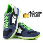 ★Atlantic STARS★ スニーカー /ANTARES ALLUMINIO NAVY