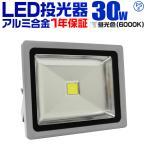 LED投光器 30W 300W相当 防水 LEDライト 作業灯 防犯 ワークライト 看板照明 昼光色 一年保証 (クーポン配布中)