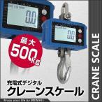 クレーンスケール 充電式 デジタル 吊秤 吊りはかり 0.5t(500kg)小型  (クーポン配布中)