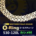 バイク チェーン Oリングタイプ ドライブチェーン 530-120L (クーポン配布中)