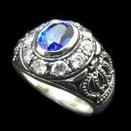 戒指 - 指輪 レディース リング シルバー925 キュービックジルコニアカレッジリング