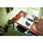 アイロン台 平型 タワー ホワイト ブラック 平置き 無地 かさばらない テーブル上 スリム