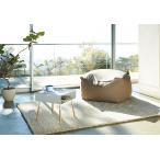 ローサイドテーブル ホワイト ブラック ソファー横 ベッド横 棚付き 天然木 スクエア