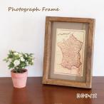 即出荷 フォトフレーム フォト 写真立て 木製フレーム 壁掛け 卓上 額 写真フレーム おしゃれ 木製 インテリア B5 ナチュラル  額縁 マンゴーウッド 40957