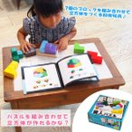 木のおもちゃ 知育玩具 賢人パズル