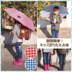 折りたたみ傘 子供 使いやすい 丈夫 ランドセルサイズ 53cm 記念品 女子 男子 かわいい 軽量 持ちて 雨具 小学生 通学 2段 8本骨 簡単開閉