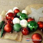 KAEMINGK オランダ クリスマス オーナメントデコレーション オーナメントセット 33個入り (020053)