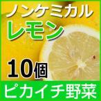 レモン ノンケミカル 10個 約1kg