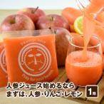 にんじん にんじんりんごレモンジュース 100cc×30パック 無添加 野菜ジュース 人参 レモン りんご ジュース ミックス 無農薬