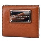 マークバイマークジェイコブス コンパクト財布 MARC BY MARC JACOBS  レディース レザー ミニ コンパクト財布 サドル M0011312