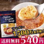 オニオングラタンスープ お試し用2食 送料無料 コストコで大人気 玉ねぎスープ インスタント PILLBOX ピルボックス フリーズドライ 個包装 味噌汁の代わりにも