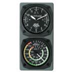 航空計器コンソール(高度計/スピード計)
