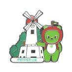 全国植樹祭ながの2016記念 伊那市鳩吹公園とアルクマピンバッジ