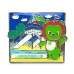 全国植樹祭ながの2016記念 上田市自然運動公園とアルクマピンバッジ