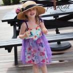 子供服 女の子 子供 サンドレスCB11フェミニン&可愛いサンドレスで女の子ならではの楽しい夏気分いっぱい