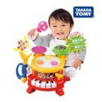 楽器玩具 トゥーンタウン リズムあそびいっぱいマジカルバンド タカラトミー Takara Tomy Disney おもちゃ toys 楽器 太鼓 ピアノ 誕生日プレゼント 知育玩具