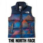 THE NORTH FACE ノースフェイス ヌプシ ダウンベスト 紺 メンズ