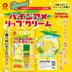 パインアメ 味付き リップクリーム 5g 日本製 かわいい 色付き ギフト プレゼント おもしろ雑貨 メール便 乾燥 フルーツ お土産 リップ