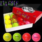 【送料無料】 エヴァンゲリオン ゴルフ カラーボール(KIRAボール) EVA×KASCO/EVA GOLF エヴァゴルフ