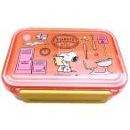 ◇ キャラクター ランチボックス ( お弁当箱 )スヌーピー ( ピンク )500ml
