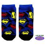 ◇ キャラクター ソックス ( 靴下 )  バットマンVSスーパーマン ( レディス22〜24cm )  ( ロゴちらし 紺/黒 )