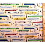 プリント 生地 走れ!超特急 ( ベージュ )swa-988-a-nk-1981