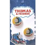 ◇ キャラクター ボタン  機関車 トーマス ( 丸ボタン )小 エドワード