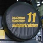 ジムニースペアタイヤカバー 「11番」型式背番号 PISTONオリジナル
