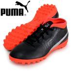 PUMA プーマ プーマ ワン 18.4 TT JR 22.5 Puma Black-Puma Silver-Red Blast 104562