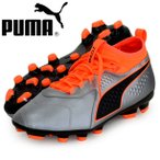 PUMA プーマ PUMA ONE 3 Lth HG 26.5 Puma Silver-Shocking Orange-Puma Black