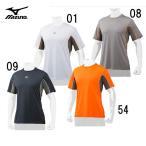 ショッピングミズノ <ミズノプロ>メッシュTシャツ【MIZUNO】ミズノ 野球 Tシャツ17SS(12JA7T80)