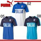 イタリア代表 FIGCイタリア FANWEAR グラフィックTシャツ 【PUMA】プーマ ● イタリア プラクティスシャツ (750421)※43