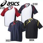 VジャンHS(半袖) 【asics】アシックス 野球ウェア Vジャン 15FW (BAV023)