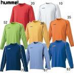hummel ヒュンメル 長袖プレゲームシャツ HAG2013 10 ホワイト