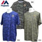 ベースボールシャツ Majestic マジェスティック 野球ウエア19SS(MK-XM01MJ9S02)