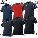 プラクティスシャツ 【MIZUNO】ミズノ バレーボールウェアー 半袖Tシャツ (V2MA6087)